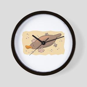 Cute Lil' Platypus Wall Clock