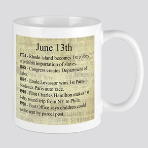 June 13th Mugs