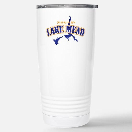 Lake Mead Stainless Steel Travel Mug