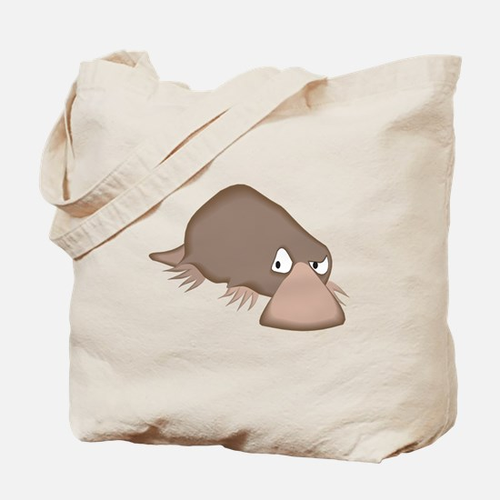 Crabby Little Platypus Tote Bag