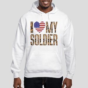 I Love My Soldier Hoodie