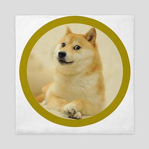 shibe-doge Queen Duvet