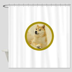 shibe-doge Shower Curtain
