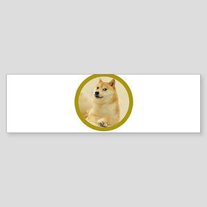 shibe-doge Bumper Sticker