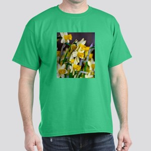 Yellow Daffodils Dark T-Shirt
