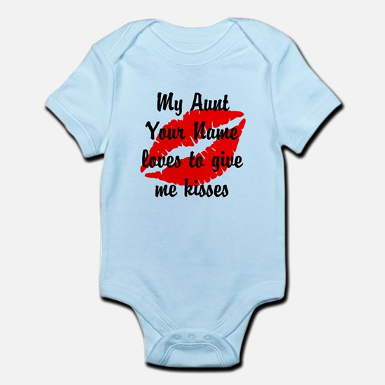 My Aunt Loves To Give Me Kisses (Custom) Body Suit