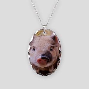 sweet little piglet 2 Necklace