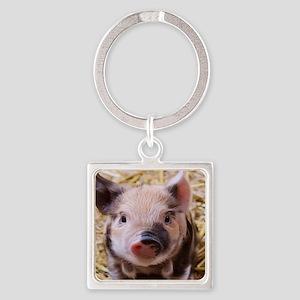 sweet little piglet 2 Keychains
