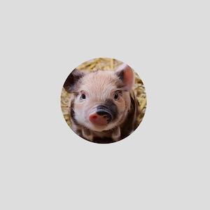 sweet little piglet 2 Mini Button