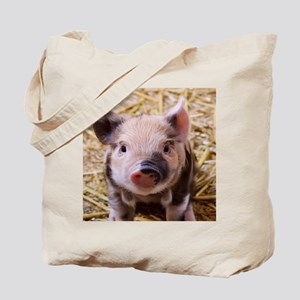 sweet little piglet 2 Tote Bag