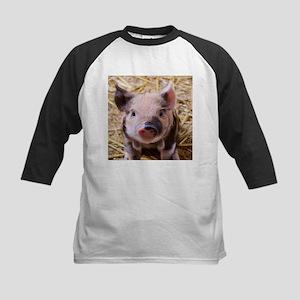 sweet little piglet 2 Baseball Jersey