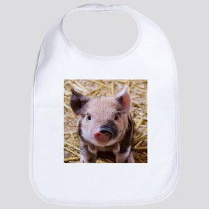 sweet little piglet 2 Bib