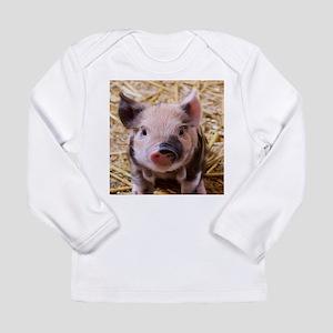sweet little piglet 2 Long Sleeve T-Shirt