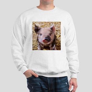 sweet little piglet 2 Sweatshirt