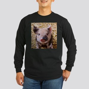 sweet little piglet 2 Long Sleeve T-Shirt