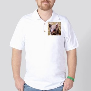 sweet little piglet 2 Golf Shirt