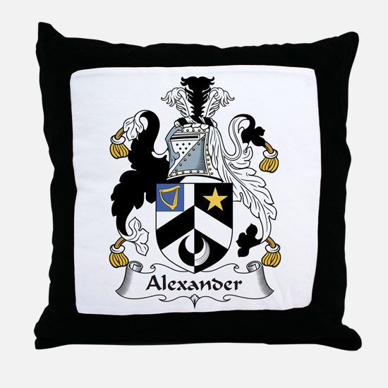Alexander Throw Pillow