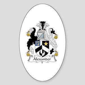 Alexander Oval Sticker