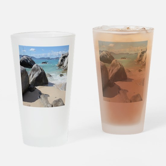 The Baths Drinking Glass