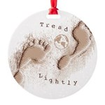 Tread Lightly Ornament