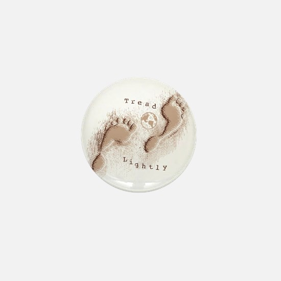 Tread Lightly Mini Button