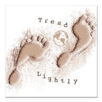 Tread Lightly Square Car Magnet 3