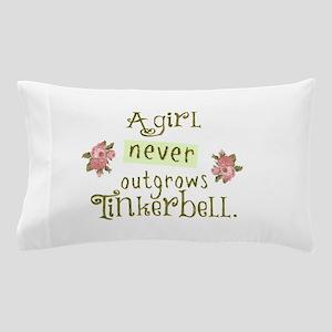 a girl never outgrows Tinkerbell Pillow Case