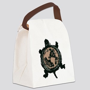 Turtle Earth Canvas Lunch Bag