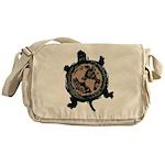 Turtle Earth Messenger Bag