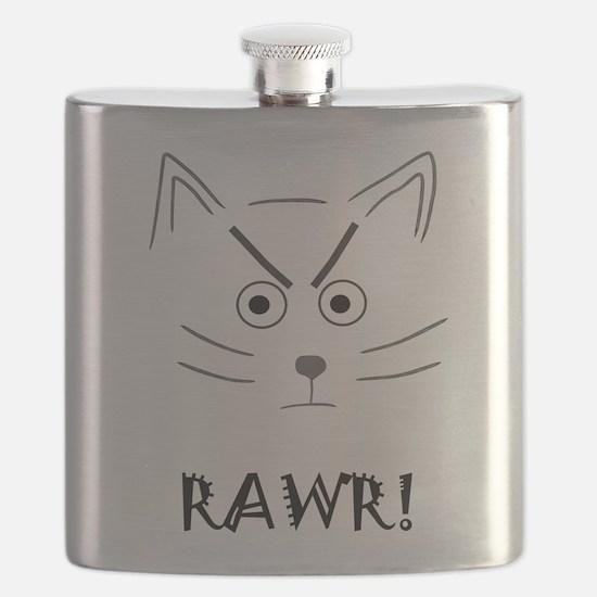 RAWR! Cat Flask