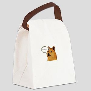 tothemoondoggie Canvas Lunch Bag