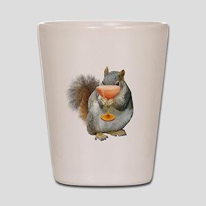 Squirrel Drink Shot Glass