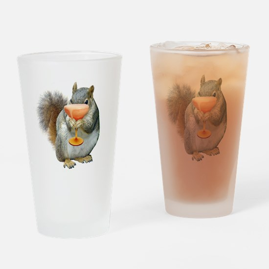 Squirrel Drink Drinking Glass