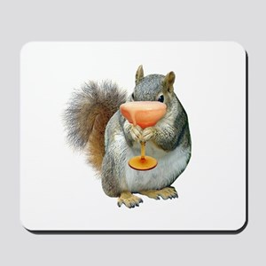 Squirrel Drink Mousepad