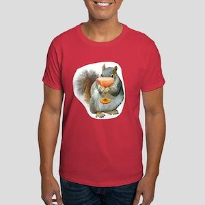 Squirrel Drink Dark T-Shirt