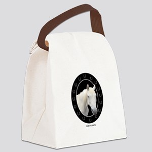 Horse Theme Design #41000 Canvas Lunch Bag