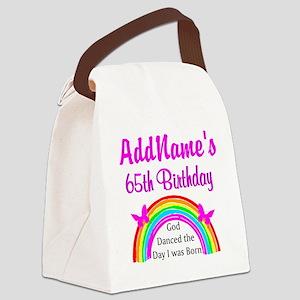LOVING GOD 65TH Canvas Lunch Bag
