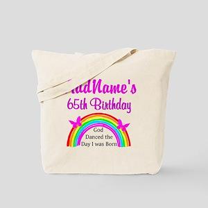 LOVING GOD 65TH Tote Bag
