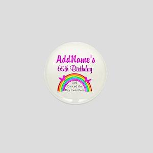 LOVING GOD 65TH Mini Button