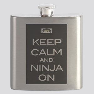 Keep Calm! And Ninja On Flask