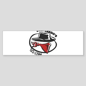 Vintage Desperado Logo Bumper Sticker