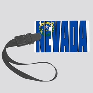 Nevada Flag Large Luggage Tag