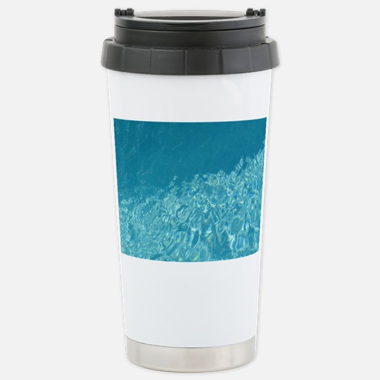 Crystal clear Stainless Steel Travel Mug