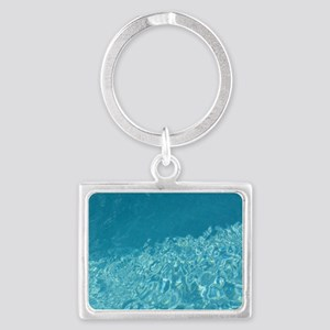 Crystal clear Landscape Keychain