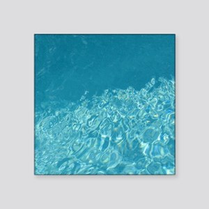 """Crystal clear Square Sticker 3"""" x 3"""""""