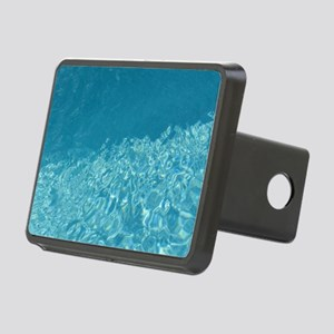 Crystal clear Rectangular Hitch Cover