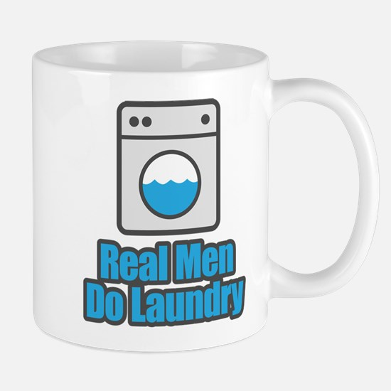 Real Men Do Laundry Mugs
