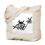 Viking Fish Tote Bag
