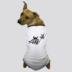 Viking Fish Dog T-Shirt
