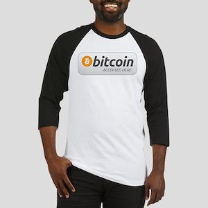 BitcoinAcceptedHere Baseball Jersey